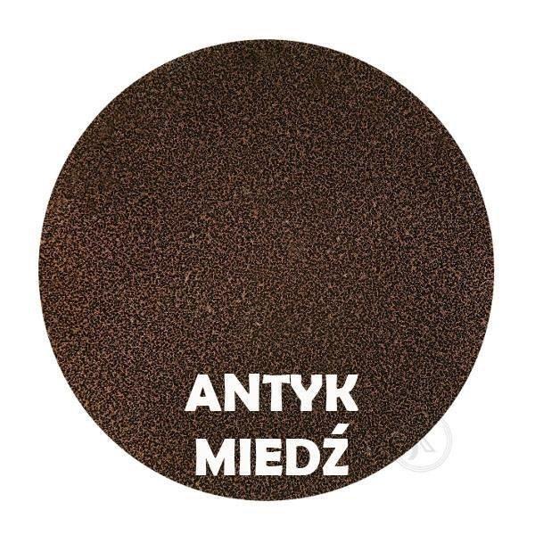 Kwietnik Laska - Kolor antyk miedż - DecoArt24.pl