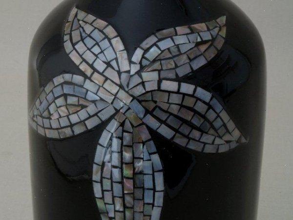 Wazon ceramiczny - Butelka - 16x42cm