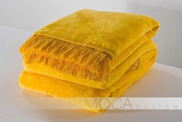 Koc - Żółty - 150x200 cm
