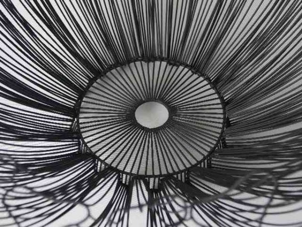 Misa na owoce - Metalowa - 44x17cm