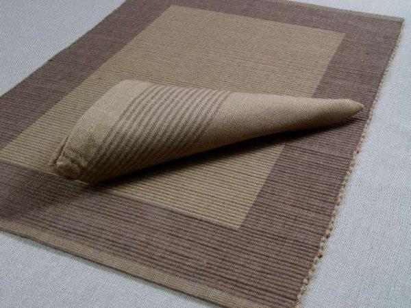 Podkładki na stół + Serwetki x 4-szt - Beżowe 100 % Bawełna