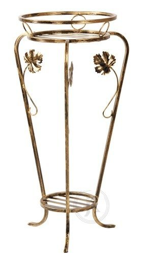 Kwietnik metalowy - Stojak na kwiaty - Juka Duża