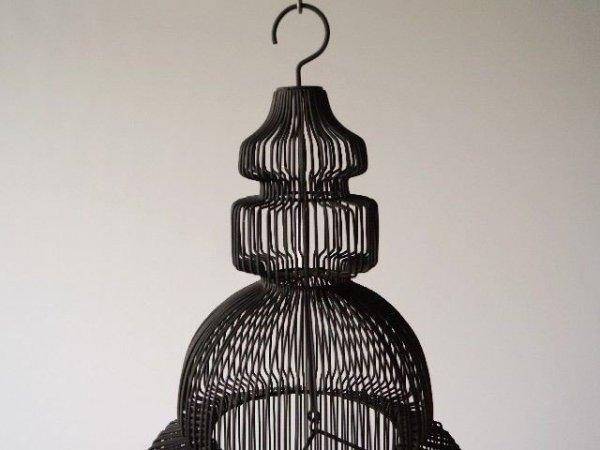 Świecznik - Czarny - 21,5x45,5cm