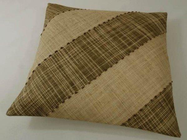 Poszewka na poduszkę - dekoracyjna - Z rafii