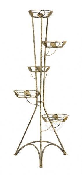 Kwietnik metalowy - Stojak na kwiaty - Kolumna 5L