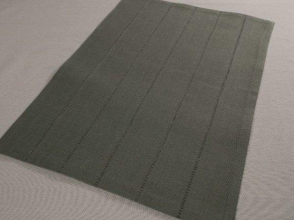 Podkładki na stół - Ciemnoszare - Z mereżką - 33x48cm - 4szt/op