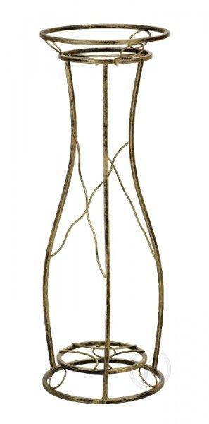 Kwietnik metalowy - Stojak na kwiaty - 1-ka DZ