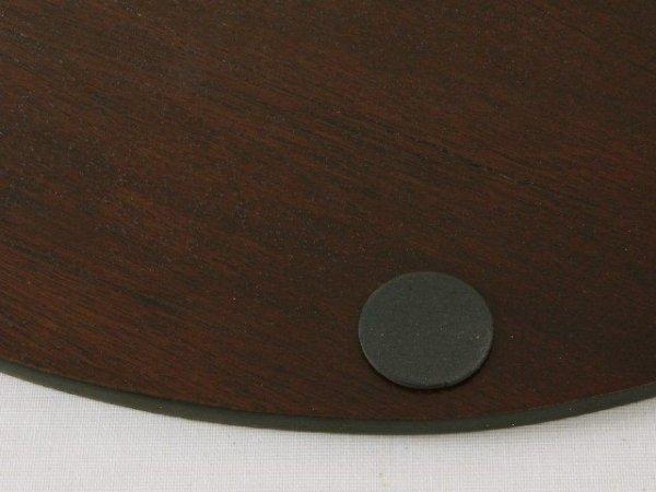 Podkładka na stół - Drewniana - Owalna 30x40cm