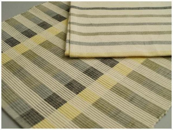 Podkładki na stół + Serwetki x 4-szt - Wanilia