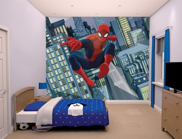 Fototapeta dla dzieci - 3D - Spiderman 4 - Walltastic