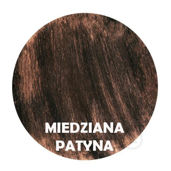 Miedziana patyna - Kolor kwietnika - Wózek - DecoArt24.pl