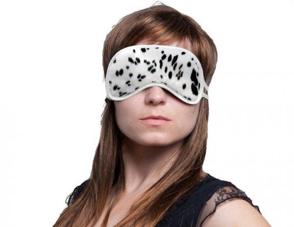 Opaska na Oczy - Wzór Dalmatyńczyk