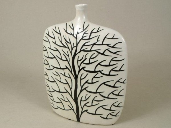 Wazon ceramiczny - Drzewko - 27x9x34,5cm