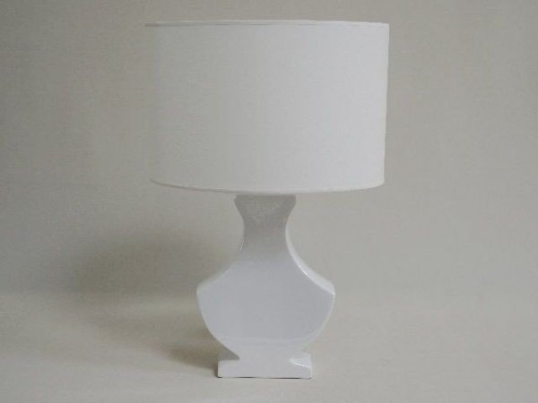 Lampka nocna - Biała S - 35x24x52cm