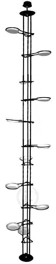 Kwietnik metalowy - Stojak na kwiaty - Rozporowy (250cm)