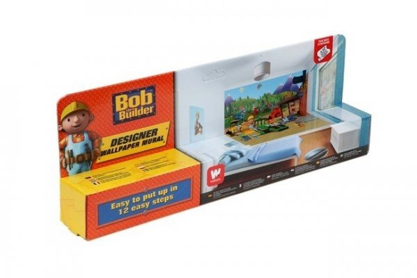 Fototapeta dla dzieci - Bob Budowniczy - 3D - Walltastic