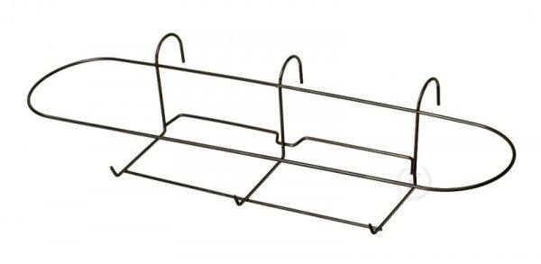 Kosz metalowy, doniczkowy -  80-ka owal