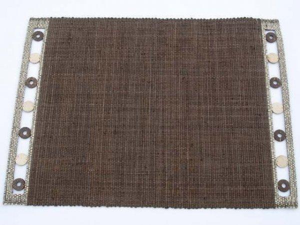 Podkładka na stół - Brąz - Z raffi - 33x48cm