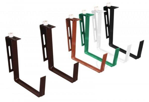 Uchwyt doniczkowy, metalowy -  regulowany 10 sztuk