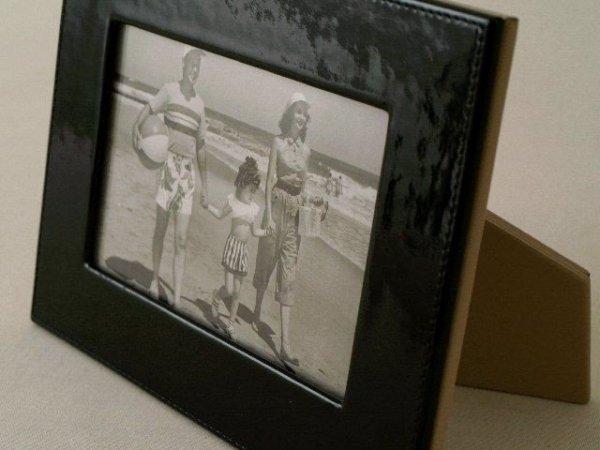 Ramka na zdjęcia - Ekoskóra - 10x15cm