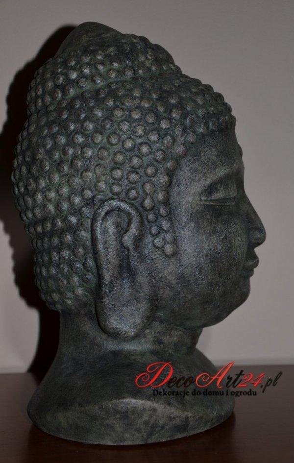 Głowa Buddy - 22x19x30cm