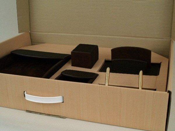 Organizer na biurko - 6 elementów - 40x68x13cm