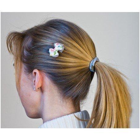 Spinka HR do włosów z kolorową wstążką
