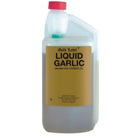 GOLD LABEL LIQUID GARLIC Czosnek w płynie 1L