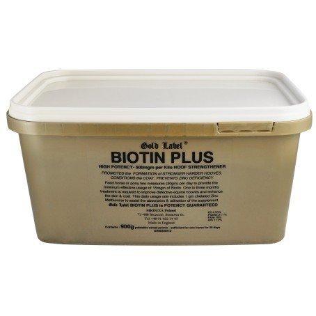 Gold Label Biotin Plus biotyna z cynkiem 900g