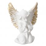 Anioł skrzydlaty . Rozmiar 15x12 cm