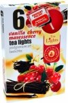 PODGRZEWACZ 6 SZTUK TEA LIGHT Vanilla cherry