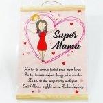 Dyplom kolorowy Super Mama