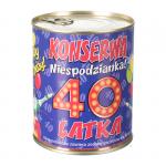 KONSERWA 40-LATKA