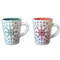 Kubek ceramiczny, dwa wzory