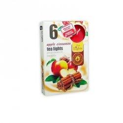 PODGRZEWACZ 6 SZTUK TEA LIGHT apple cinnamon