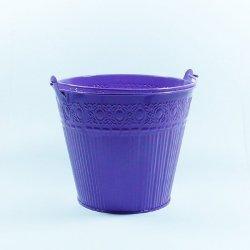 Doniczka kolor fiolet