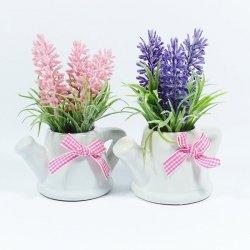 Kwiatek w doniczce, mix kolorów