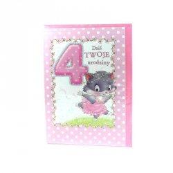 Karnet Dziś twoje 4 urodziny
