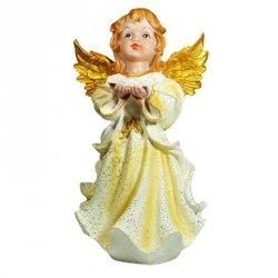 Figurka Aniołek z książką