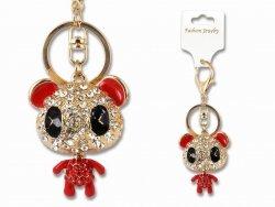 Breloczek do kluczy - panda