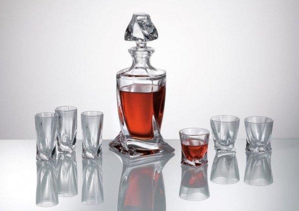 Komplet 6 kieliszków do likieru / wódki QUADRO , 50 ml