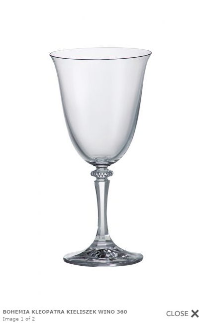 Kieliszek do wina czerwonego. Pojemność: 360ml