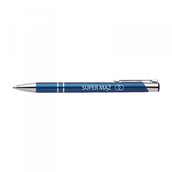 Długopis z nadrukiem 'Super mąż'