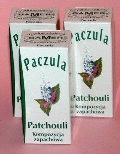 Kompozycja zapachowa PACZULA