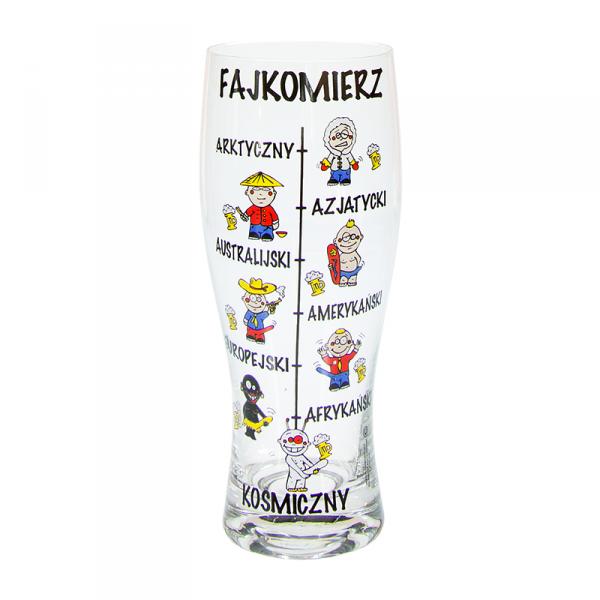 Szklanka do Piwa 630ml 'Fajkomierz'
