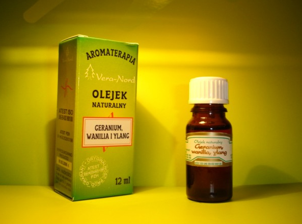 Gerarnium, Wanilia i Ylang