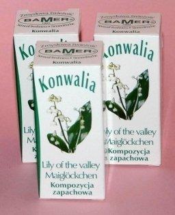 Kompozycja zapachowa KONWALIA