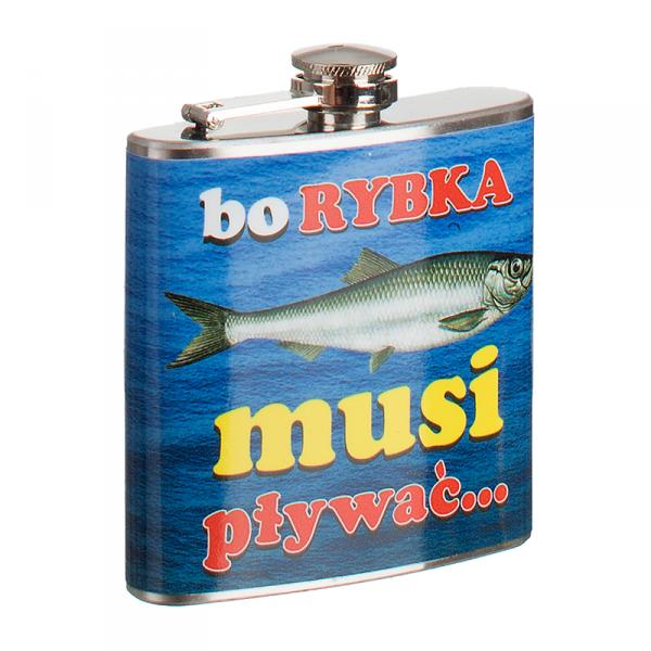 'Bo Rybka Musi Pływać' Piersiówka
