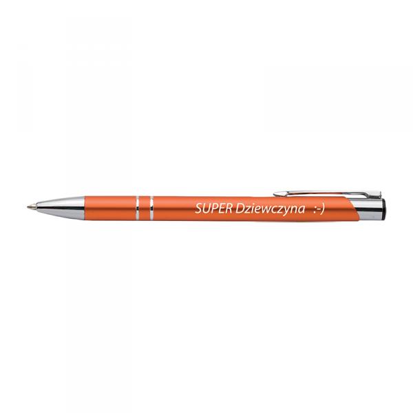 Długopis z nadrukiem 'Super dziewczyna'