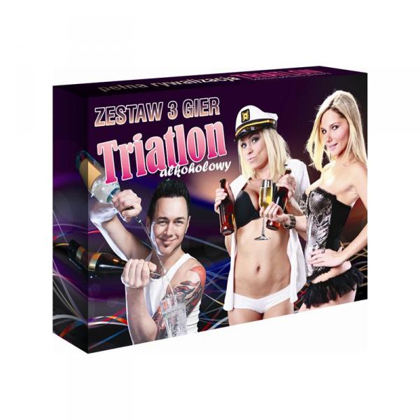 'Triatlon Alkoholowy' - zestaw 3 gier